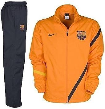 Nike - Barcelona Chandal NA Junior 11/12 Hombre Color: Naranja ...