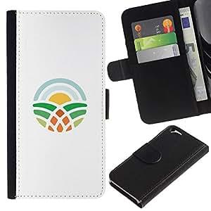 All Phone Most Case / Oferta Especial Cáscara Funda de cuero Monedero Cubierta de proteccion Caso / Wallet Case for Apple Iphone 6 // símbolo de aprendizaje
