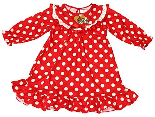 Infant/Toddler Girls Rudolph The Red Nose Reindeer