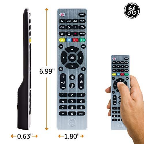 Ge 4 Device Universal Remote Smart Tvs Lg Vizio Sony Blu