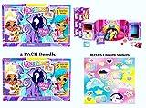 2 Pack - Hairdorables Pets Set - Series 1 Bonus Unicorn Rainbow Stickers!