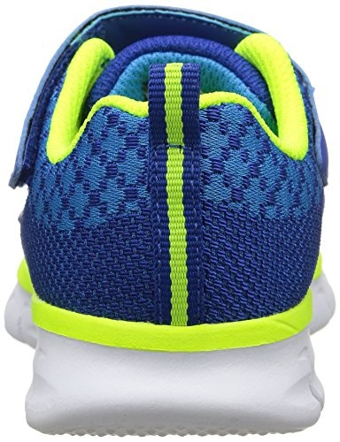 Skechers Synergy Mini Knit, Jungen Sneakers Blau (BLYL)