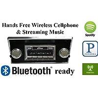 Bluetooth Enabled 1968-1972 Ford Truck USA-630 II High Power 300 watt AM FM Car Stereo/Radio