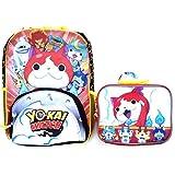 Yo-kai Watch 16 Backpack Book Bag with Lunch Bag Set by Yokai Watch