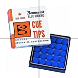 Blue Diamond Glue on Tip, 10mm (5pcs)