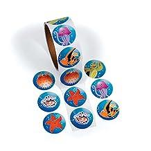 Fun365 Tropical Sea Life Sticker Rolls