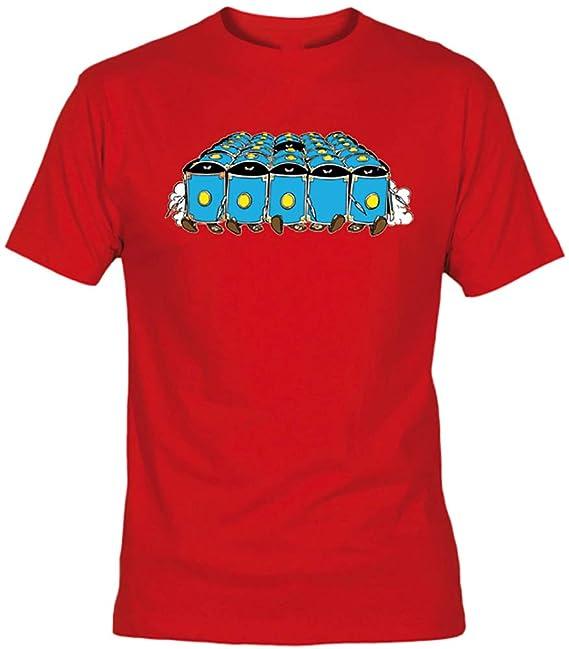 Camiseta Romanos Asterix Adulto/niño Camisetas EGB Retro 80´s (5-6
