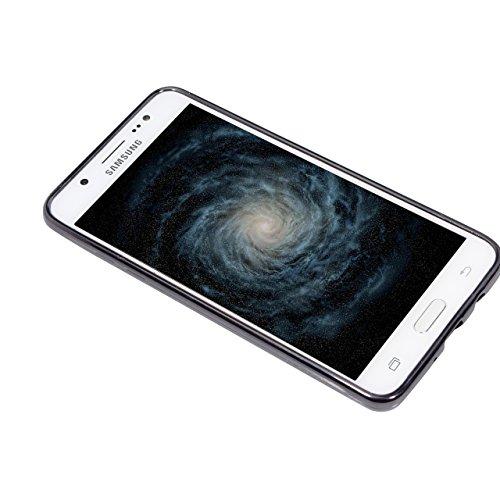 Funda Samsung Galaxy J3 2016 5.0 pulgadas , Sunroyal 3 en 1 Desmontable Ultra-Delgado Anti-Arañazos PC Estuche Rígido de 360 ??Grados Completa Protección [ Premium Mate Duro ] Hybrid Carcasa de Ajuste A-15