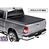 Gator Covers 1385954 Gator Roll Up (fits) 2019 and Up Dodge Ram 5.7 FT