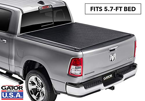 Gator ETX Soft Roll Up Truck Bed Tonneau Cover | 1385954 | fits 2019 Dodge Ram 1500 (New Body Style), 5.7' Bed | Made in the USA (Best Roll Up Tonneau Cover For The Money)