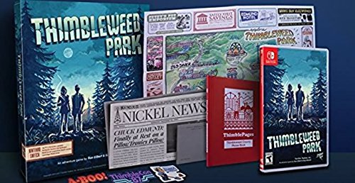Thimbleweed Park Big Box Edition - Switch Limited Run #1 NSW