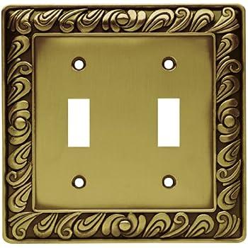 Amazon.com: Franklin Brass 64047 Paisley Single Decorator Wall Plate ...