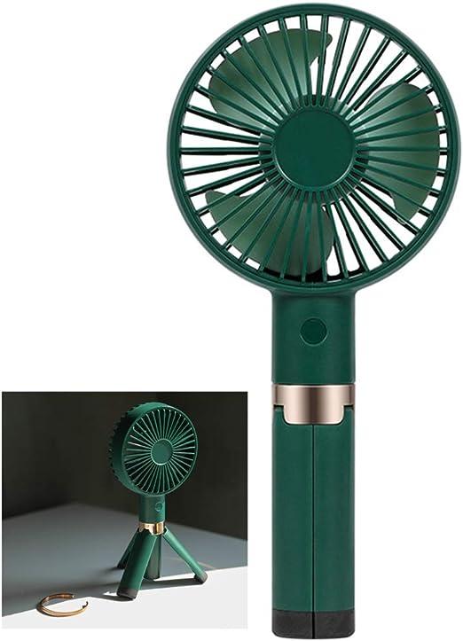 ENDJYO Ventilador De Mano Ventilador USB Recargable Trípode De ...