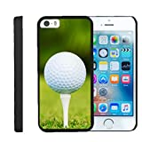 Apple iPhone SE Case | iPhone 5/5s Case [Slim Duo] Compact Fit Hard Clip On Case Slim Cover on Black Sports and Games by TurtleArmor - Golf Ball Tee