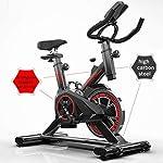YMXLXL-F-Bike-E-F-Rider-Fitnesstrainer-Attrezzo-Sportivo-Allenamento-Corpo-Cardio-TrainerBlack