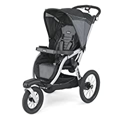 "The Chicco TRE is designed to keep up with fast-paced families from everyday outings all the way to race day. A lightweight aluminum frame, sleek three-wheel design, deceleration hand brake, and 16"" pneumatic rear tires make it easy to maneuv..."