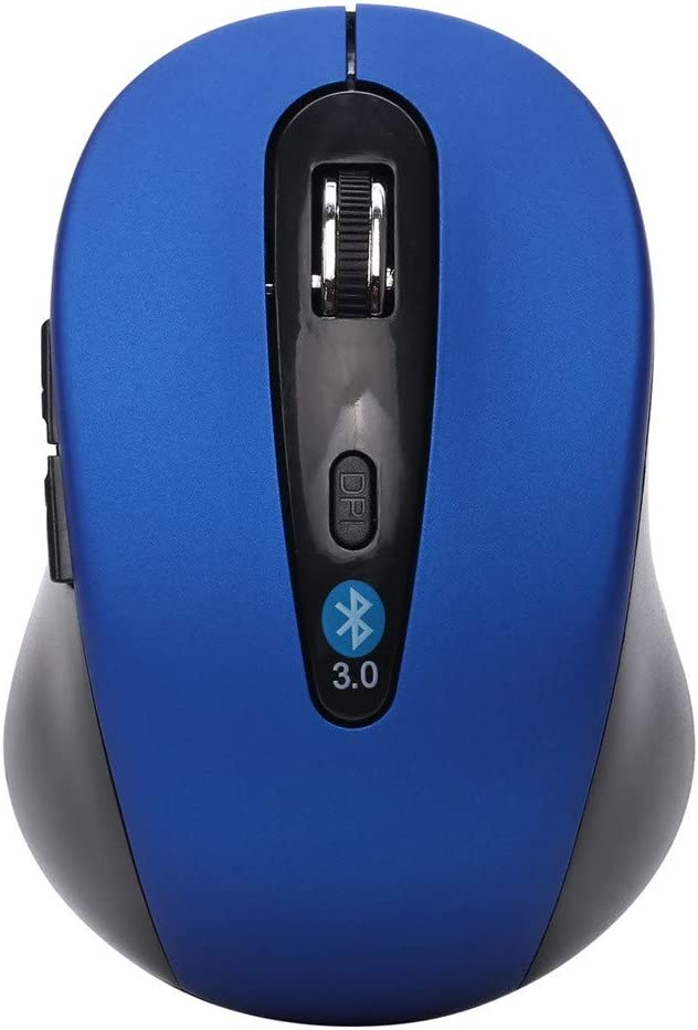 Metermall Mini Mouse Wireless Optical Bluetooth Mouse 1600 DPI 6D Gaming Mouse Blue