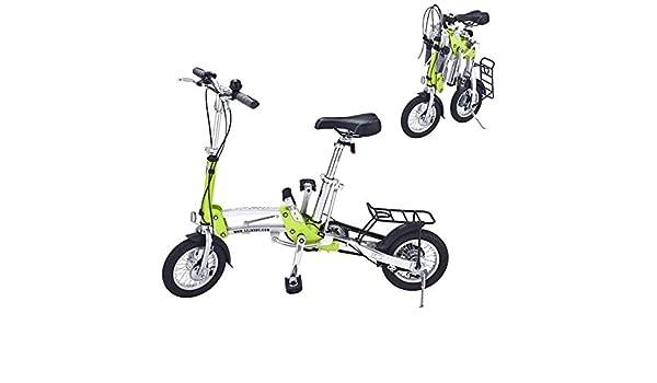 Bazaar Plegado Rueda pequeña de 12 pulgadas bicicleta de velocidad ultra-ligero: Amazon.es: Deportes y aire libre