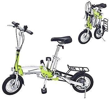 Bazaar Plegado Rueda pequeña de 12 pulgadas bicicleta de velocidad ultra-ligero