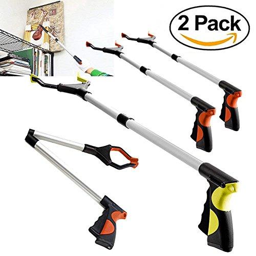 2 Pack - Reacher Grabber Pick up Tool, 32