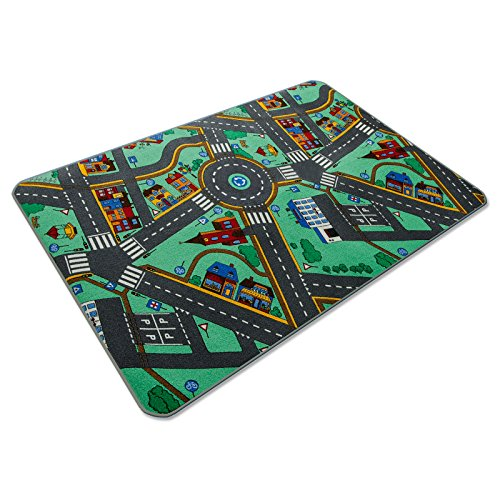 Kids Rug For Playroom, Non Toxic