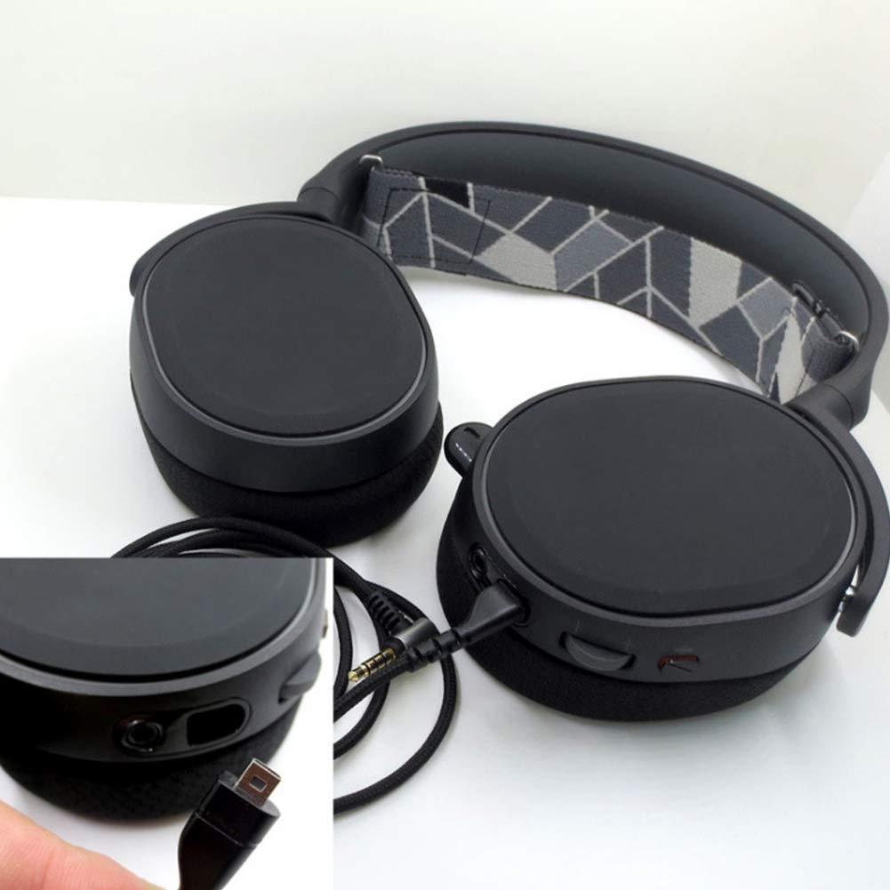 Arctis Pro Deylaying Fil C/âble de Casque Audio St/ér/éo pour SteelSeries Arctis 3 Arctis 9X Arctis Pro Wireless Arctis 5 Arctis 7