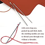 29 PCS Large Eye Sewing Needles, 20 PCS Sewing