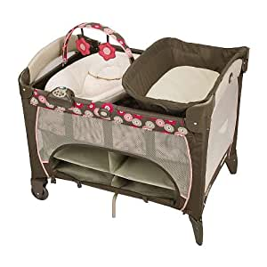 Graco Pack 'n Play Playard with Newborn Napper Station Deluxe - Faith