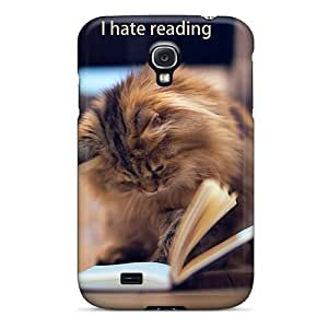 PhoneCases926 Perfect Tpu Case For Galaxy S4/ Anti-scratch Protector Case (hate Reading)