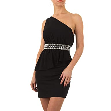0c75d209437 Schuhcity24 Damen Kleid Kurzes Cocktailkleid Abendkleid Ballkleid Abikleid  Partykleid festliche Kleider  Amazon.de  Bekleidung