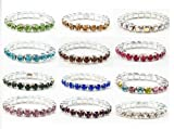 Best CBD Birthday Gifts For Aunts - Crystal Stretch Toe Rings Lot of 12 Review