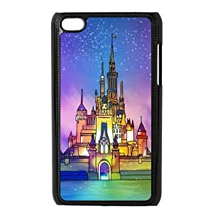 iPod Touch 4/4G /4th Generation Back Protective Case - Cute Disney Castle Case Perfect as Christmas gift(4)