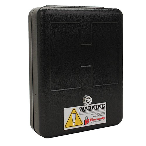 Hornady 98152 Security TriPoint Child Resistant Lock Box, Black by Hornady