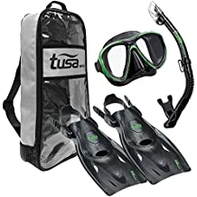 TUSA Sport Power-View Dry Snorkeling Set