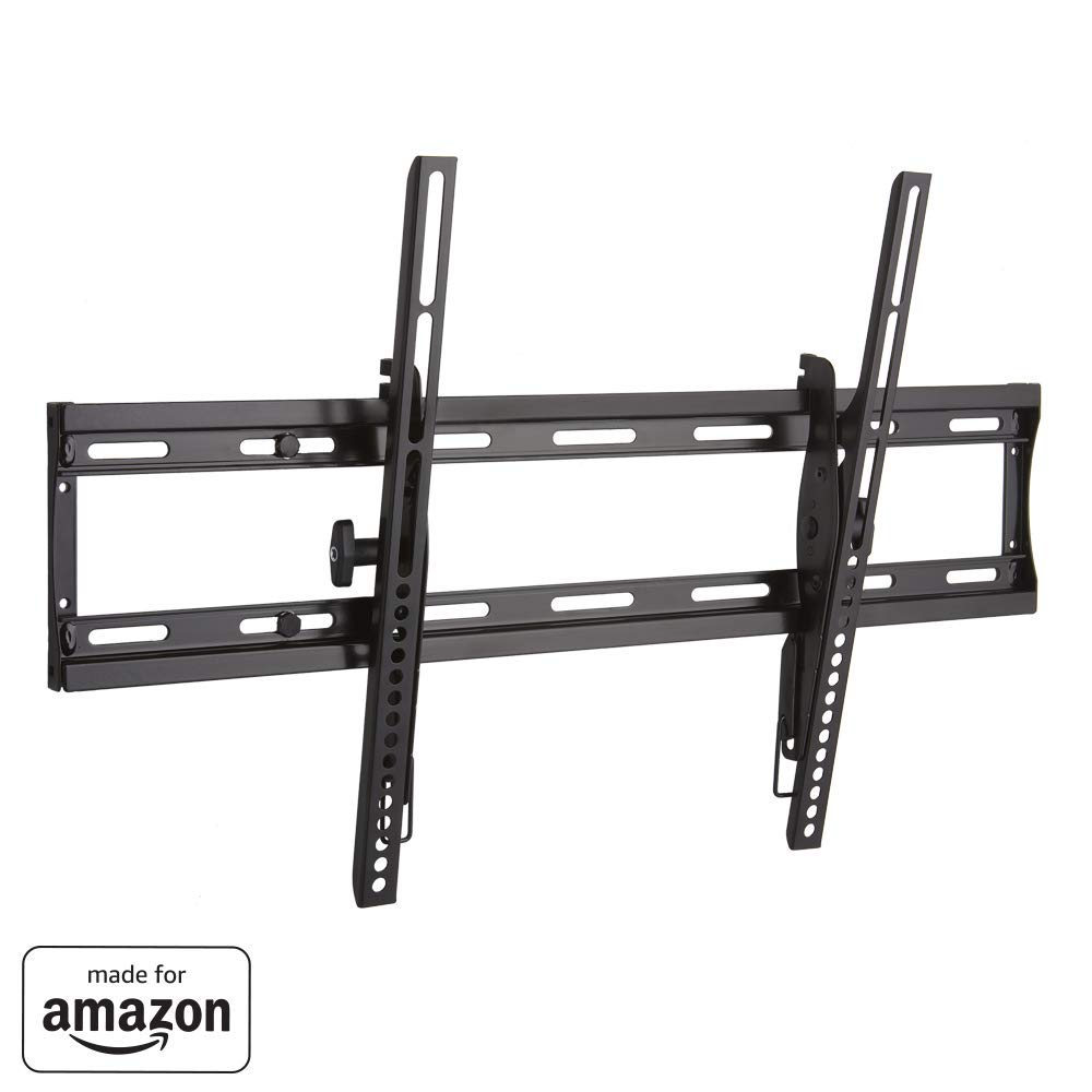 """Sanus Low Profile Tilting TV Wall Mount Bracket for 40''-70'' TVs - Slim 2"""" Profile has Effortless Tilt Post-Install Centering - Universal Design is Compatible with Fire TV Editions, TCL, Samsung & More"""