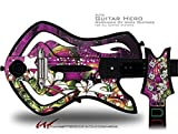 Grungy Flower Bouquet Decal Style Skin - fits Warriors Of Rock Guitar Hero Guitar (GUITAR NOT INCLUDED)