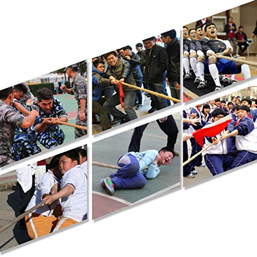 BAI-Fine Tug of War Rope Game Special Rope Adult/Child Tug-of-war Combat Fitness Rope Linen Rope Does Not Hurt The Hand (Color : F) by BAI-Fine (Image #3)