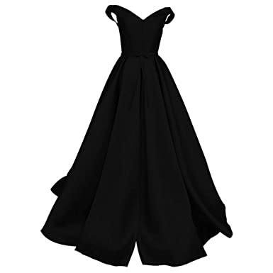 WHZZ Elegant Satin Evening Dresses Long Prom Dress Cheap Wedding Party Gown