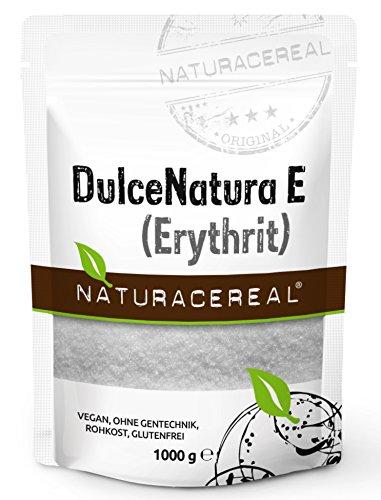 13 opinioni per Eritritolo- DulceNatura E, 1.000 g- completamente senza calorie- adatto per i