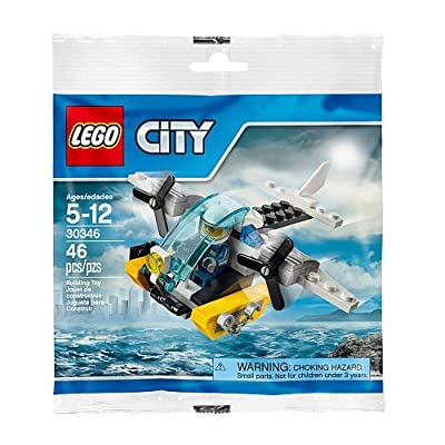 LEGO City Prison Island Helicopter (Bagged): Toys & Games