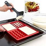 YAMI 4 Cavities Waffles Cake Chocolate Pan Baking Silicone Mold Cooking Tools Kitchen