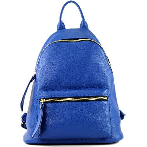 modamoda sac Ital nur blue Präzise de Farbe cuir Damenrucksack T171A en Farbe RqRgr