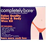 Completely Bare Salon Quality Bikini & Body Wax Kit - Smoother Skin and Less Redness, Easy To Use, No Mess, Irritation…