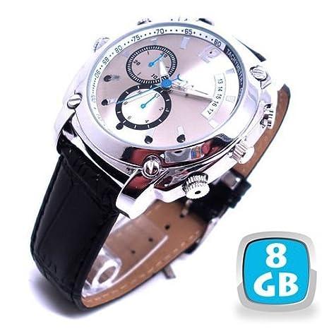 Yonis-Reloj con cámara espía Full Hd 1080P visión nocturna para Usb 8 GB, color negro: Amazon.es: Electrónica