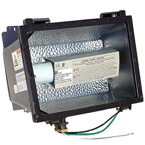 - INTERMATIC FL050MH 50W METAL HALIDE FLOOD LIGHT, (120, 208, 240, 277V MULTI-TAP)