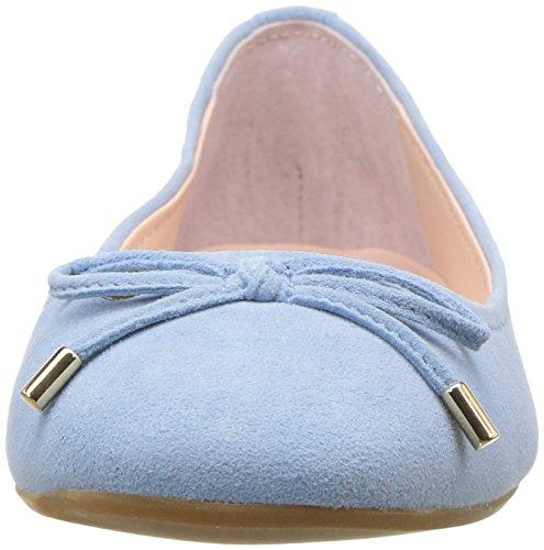 Flat Steve Staple Ballet Madden Women's Suede Blue wqqCxIanA