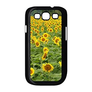 KSDHPNECASE Case Of Sunflower Hot Selling Customized Gifts Hard Case For Samsung Galaxy S3 I9300