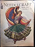 img - for Needlecraft Magazine (Needlecraft: The Magazine of Home Arts), vol. 22, no. 5 (January 1931): The India Issue book / textbook / text book