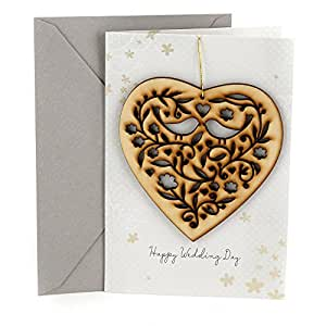 Amazon hallmark wedding greeting card removable keepsake greeting cards m4hsunfo