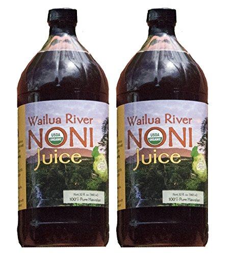 Organic Noni 100% Island (Wailua River Noni Juice 100% Organic Hawaiian)